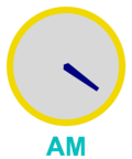 Analog clock: time now is 04:22 (this clock image refreshes every 2 minutes)