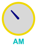 Analog clock: time now is 10:38 (this clock image refreshes every 2 minutes)